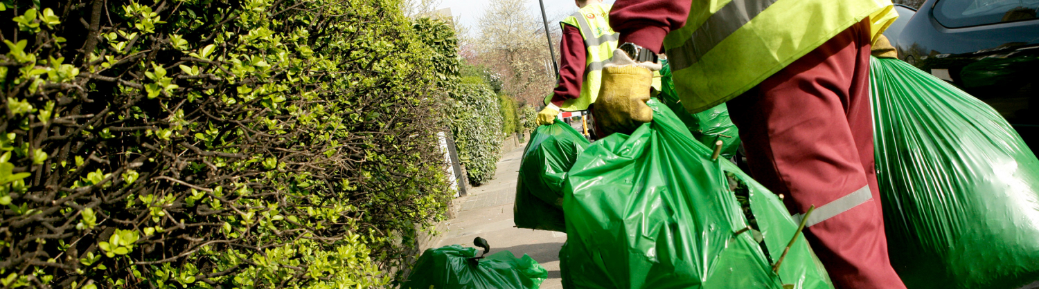 Organic waste collections being carried out.