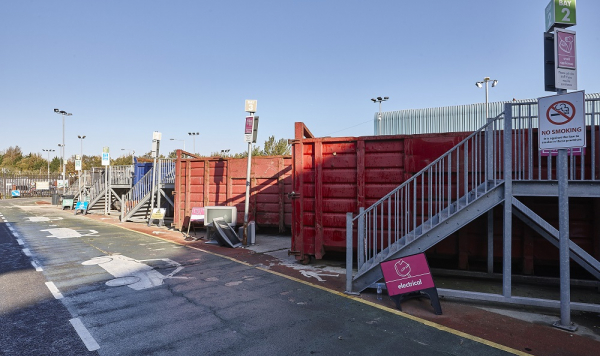 Regis Road Reuse and Recycling Centre